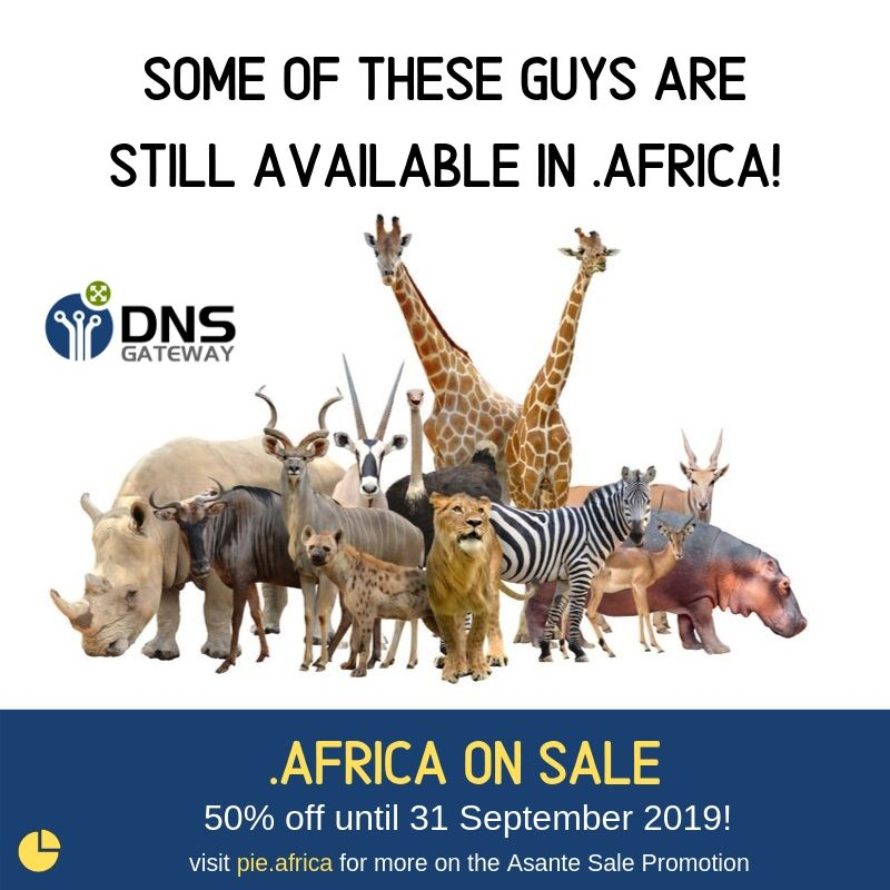 .Africa on sale!
